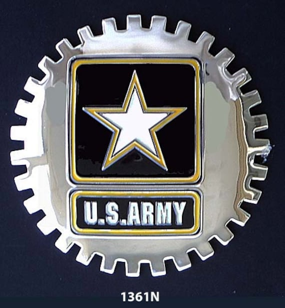 Galerry army car grill badge