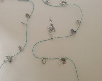 Stormy Weather  and Gardener's Delight Necklaces