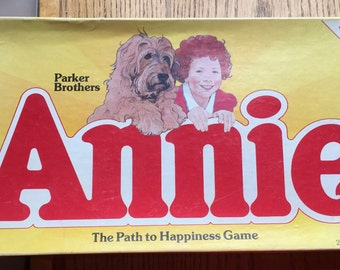1981 Annie Board Game A Path To Happiness by Parker Brothers