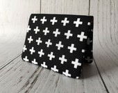 Card Wallet - Black Cross