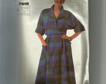Simplicity Misses' Dress Pattern 7618