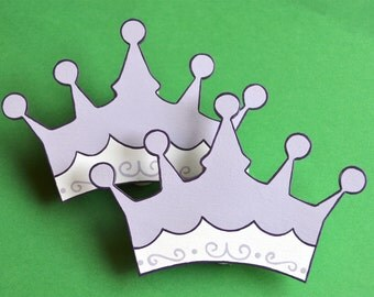 Princess Meredith Crown Quilt Clips Set/2