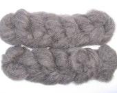 Charcoal Gray Shetland Roving, 4 ounces
