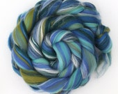 Seascape Luxury Merino and Silk Blend Wool Combed Top 100g