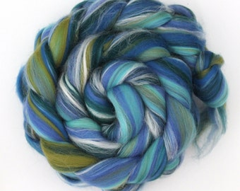 Seascape Luxury Merino and Silk Blend Wool Combed Top 50g 100g