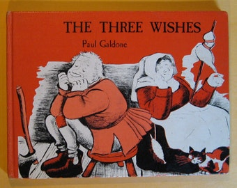 The Three Wishes by Paul Galdone