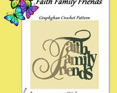 Faith Family Friends - Graph Chart and Written Instructions