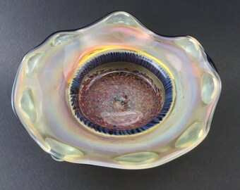 Borosilicate Glass Color Changing Dish Bowl Plate--Dan Rushin