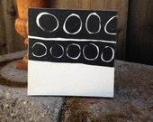 Original Painting, modern art, modern spaces, acrylic painting,  black and white, minimalist art, fine art, original art