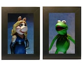 Muppets Framed Photo Set Miss Piggy and Kermit Toys
