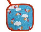 Cloud Umbrella Pot Holder