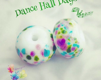 Lampwork Beads Dance Hall Days
