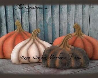 Primitive Pumpkin Pattern, The Squatters E-pattern