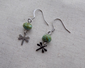 Dragonfly Earrings Stainless Steel