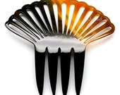 Horn Hair Comb - Q10795 (Reserve for Gina)