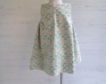 Dandelion Puff Reversible Jumper, Sizes 12m, 2t, 3t, 4t