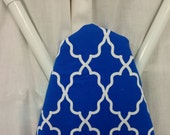 SMALL MOROCCAN COLORS Ironing Board cover Small Moroccan print  wedding or shower gift - housewarming gift - gift for wife - gift for mom