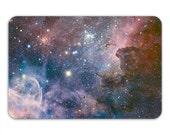 Carina Nebula Memory Foam Bath Mat, Galaxy Outer Space Bathroom Rug - Printed in USA