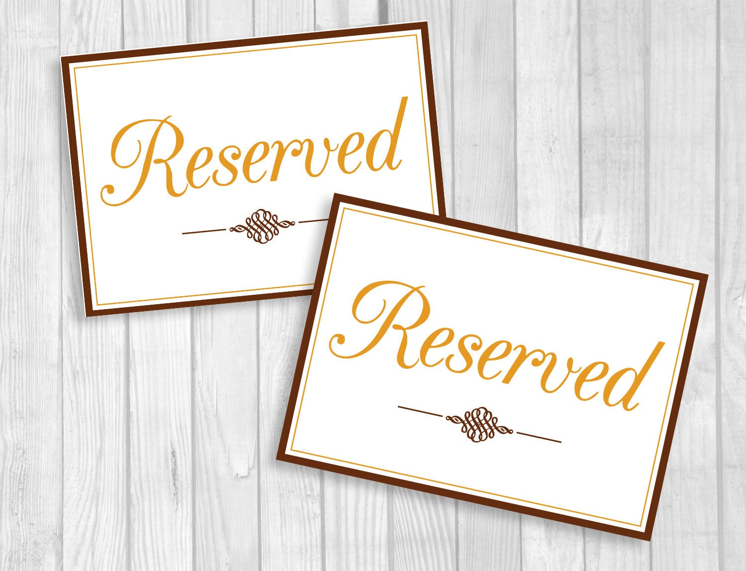 It's just a picture of Epic Printable Reserved Signs