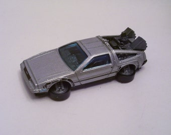 Back to the Future - Time Machine DeLorean - Hover Mode : Die Cast, Hot Rod, Man Cave, Refrigerator, Tool Box, Magnet