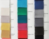 """Scuba Neoprene Fabric 4 ways stretch,  1 yard choice of color from chart  58""""  Western Wear, suits, pants, jackets, dresses"""