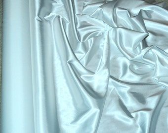 "Stretch Satin White  fabric 52"" wide...bridal, lingerie , home decor, pajama's, sleep wear, formal wear"