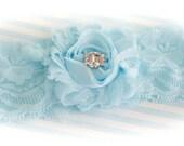 Beatutiful Bride in Something Blue Garter, Wedding Garter, Garters