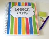 Early Childhood Lesson Plan Book