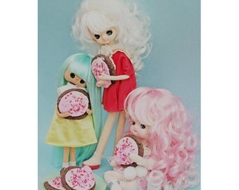 retro cookie dolls 5 x 7 THE SUGARCOOKIES