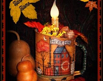 Apple Tree Cottage Original Design E Pattern - Harvest Home
