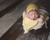 Newborn Baby Bonnet Photography Prop