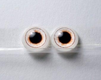 Doll eyes 10mm AD4 Dilate color Alabaster