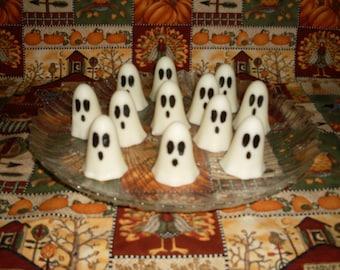 Halloween   Ghost Wax Tarts Marshmallow Bomb