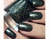Blacklisted// Handmade Holographic Glitter Nail Polish// Cruelty Free