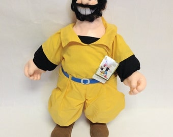 1985 Vintage Bluto doll with tags  Popeye