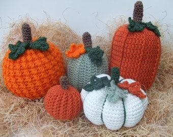 Crochet Pattern Picking A Pumpkin, PDF Download