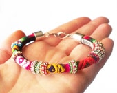 Whirled Culture Bracelet - bold/bright