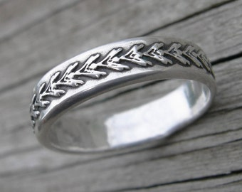 Saskia Ring Sterling Silver Band Stacking Ring MADE TO ORDER