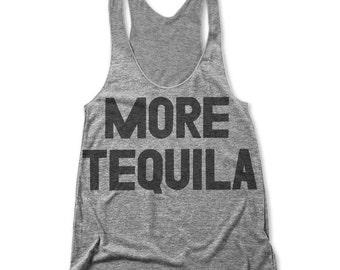More Tequila (Women's Racerback Tank)