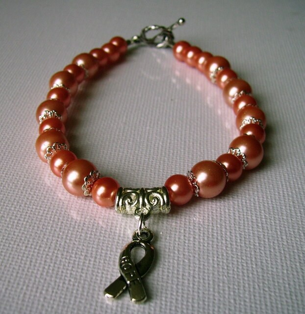 beaded bracelet womb cancer endometrial cancer