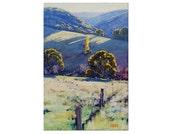 Autumn Landscape Trees Oil Painting Impressionist Artwork Fine Art by  Graham Gercken