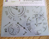 NEW 12 INCH STENCILS from The Crafters Workshop-Pick 2!