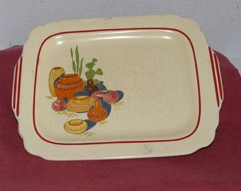 Homer Laughlin - Hacienda Platter - 1940s