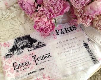 French Market Fabric - Eiffel Tower - Grasse-Paris - Carte Postale - Paris 1889 -  Extra Wide