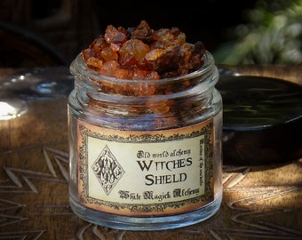 WITCHES SHIELD Resins of the Ancients . Old World Alchemy