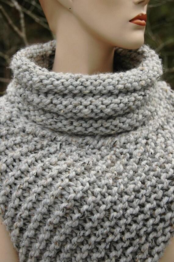 Knitting Pattern Katniss Cowl Huntress Vest