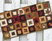 Cedar Box Table Runner - Autumn Leaves (TGTR22)