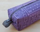 Short Circuit Sm CA Roll (makeup or pencil case)
