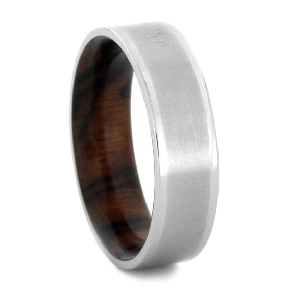 Matte Ring Titanium Wedding Band For Men Or By Jewelrybyjohan