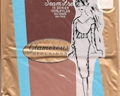 Vintage 60s Seamless Nylon Stockings Size 10 NOS